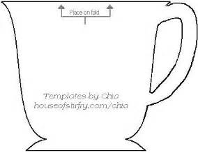 teacup template teacup shaped card free template use as invitations for a