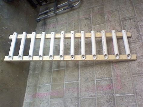 How To Build A Fishing Pole Rack by Do It Yourself Pvc Fishing Rod Holder Fishing