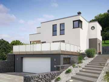 luxushaus bauen hausbeispiel mit grundriss ideen und preisen