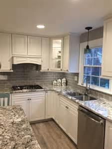 grey backsplash subway tile kitchen and glass backsplashes hgtv