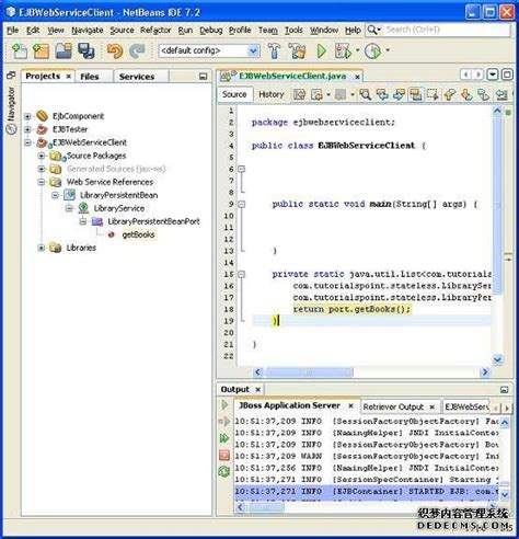 tutorialspoint for java ejb web services ejb tutorialspoint java 技术教程