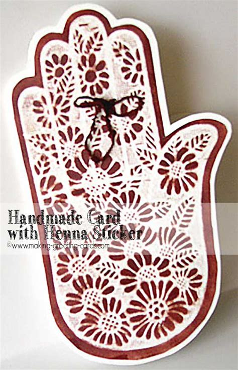 how to make a henna tattoo stencil start greeting cards learn cardmaking here