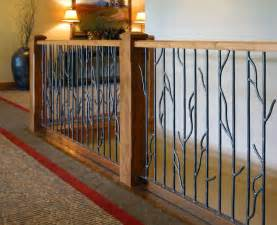 Wrought Iron Stair Handrail Best 25 Wood Stair Railings Ideas On Pinterest Stair