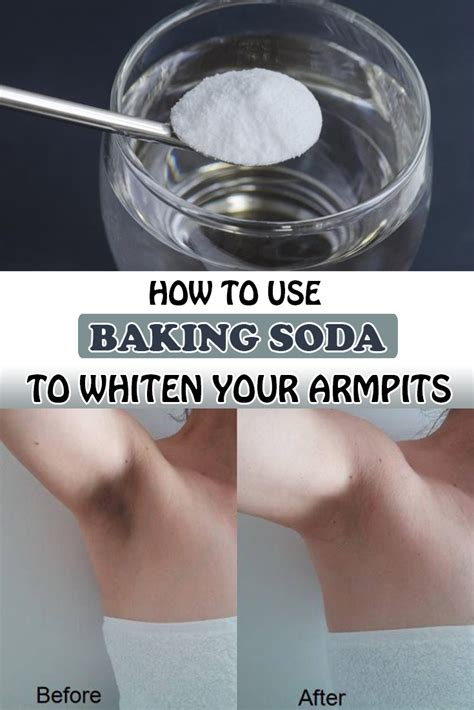 Underarm Detox Pads by How To Use Baking Soda To Whiten Your Armpits Wifemommywoman