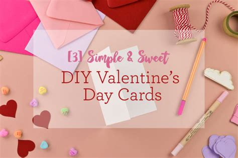 diy rugged s day card 3 simple sweet diy s day cards cards pockets design idea