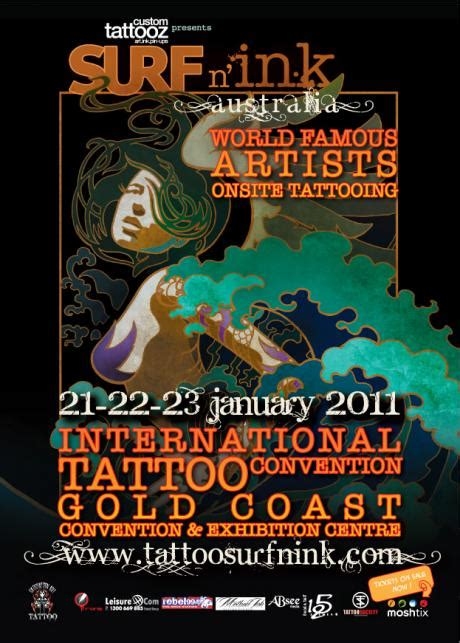 tattoo expo gold coast surf n ink 2011 conventions big tattoo planet