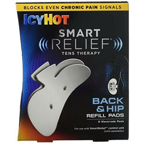 icy hot pads for your back icy hot smartrelief strte size 1ct icy hot