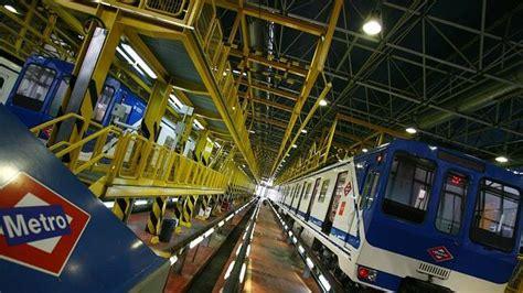 cocheras metro madrid otra vez el concurso de seguridad de metro desierto s 243 lo