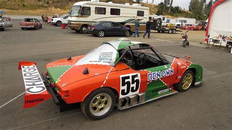 mazda rotary racing lemons mazda 787b replica with a 12a rotary