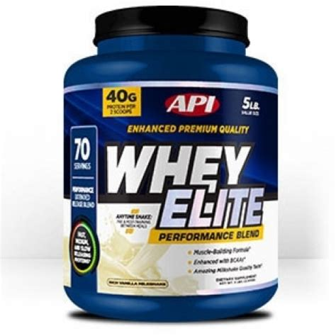 Whey Elite Api Api Elite Whey Protein 5lbs Fitness Equipment Of Ottawa