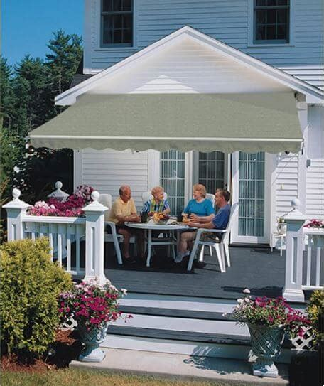 sunsetter motorized retractable awning retractable awnings for patio or deck luce s chimney
