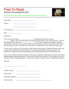 donor acknowledgement letter template best photos of giving donation letter exle thank you