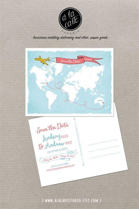 wedding invites usa destination wedding world map international bilingual wedding invitation save the date
