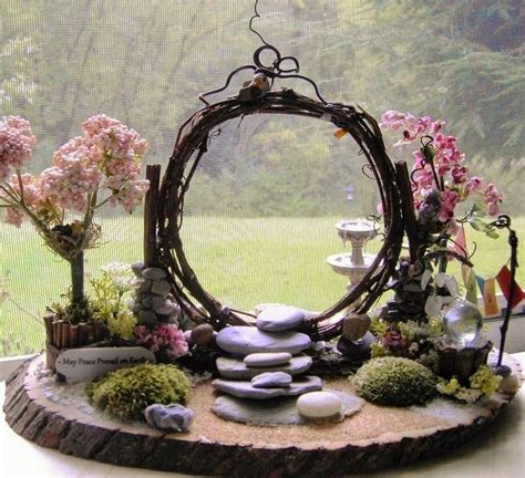 mini zen rock garden best 25 miniature gardens ideas on