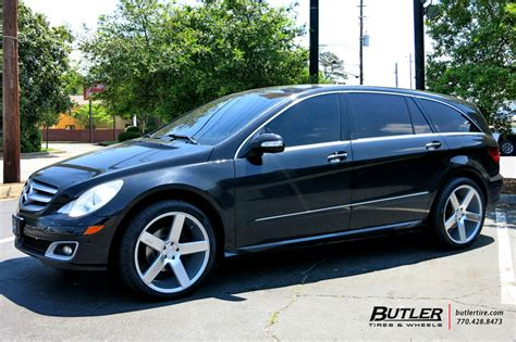 mercedes  class   niche milan wheels exclusively  butler tires  wheels