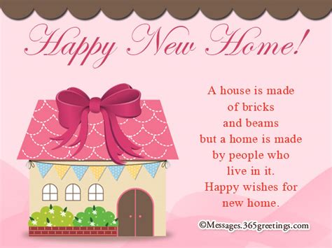 happy in your home new home messages and wishes 365greetings com