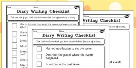 diary writing template ks2 1000 images about educated guess on cause and