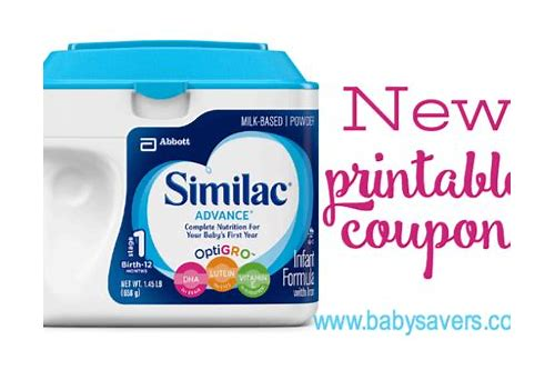 similac printable coupons november 2018