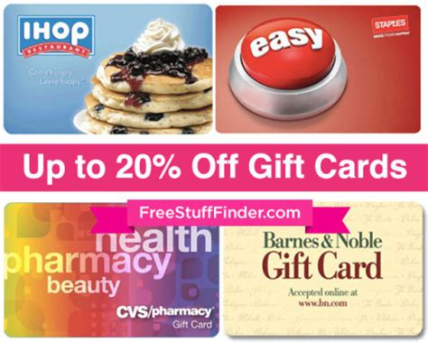 Ihop Discount Gift Cards - up to 20 off gift cards target sephora ihop applebees