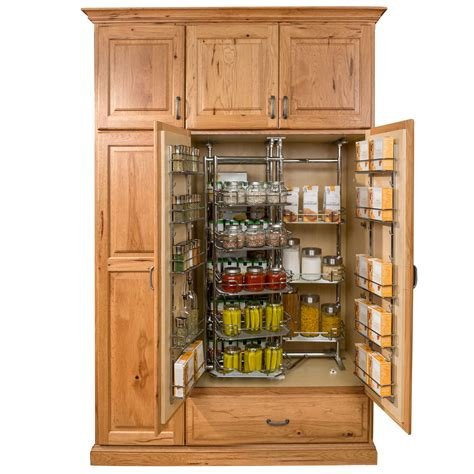 Kitchen Cabinet Spice Organizers by Pantry And Food Storage Storage Solutions Custom Wood