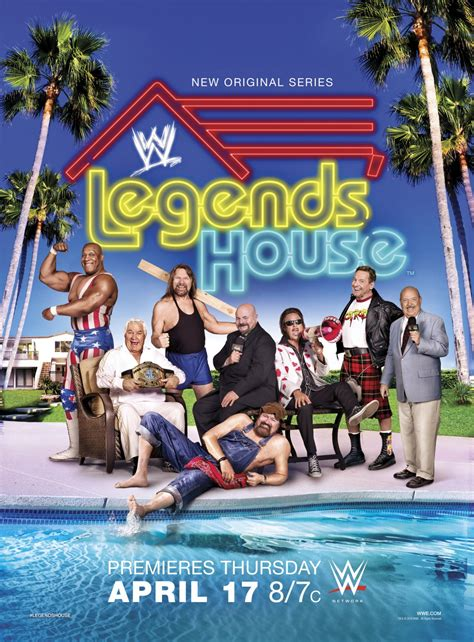 Watch Wwe Legends House Streaming Online Free