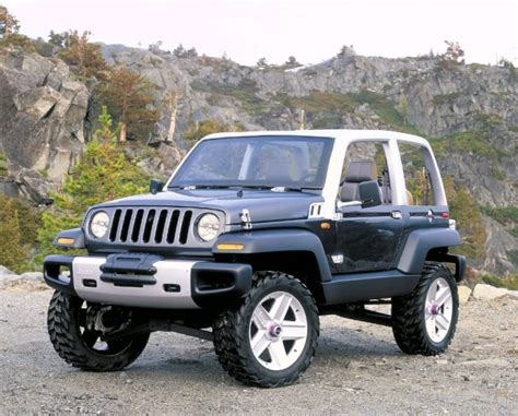 jeep wrangler icon twenty five great jeep concepts from the past hooniverse
