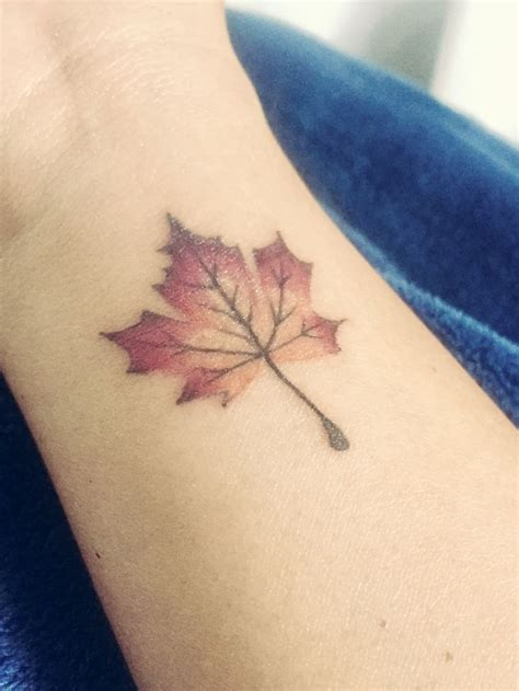 fall leaf tattoo 25 best ideas about autumn on fall