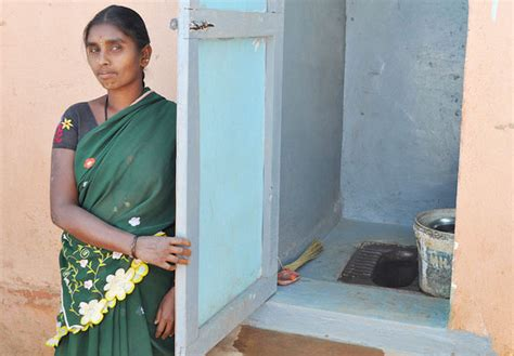 indian public bathroom india urges men to woo brides by having toilets women s