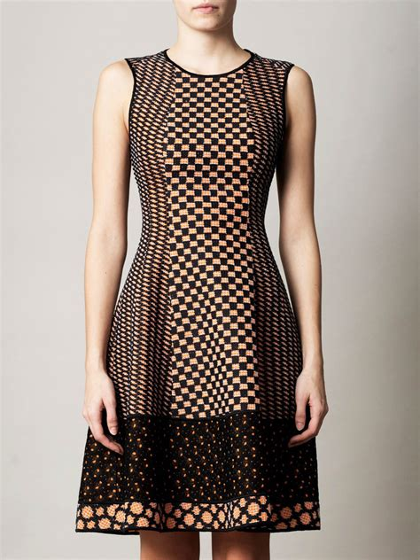 Dress Knit missoni traforato patch tri knit dress for aewom
