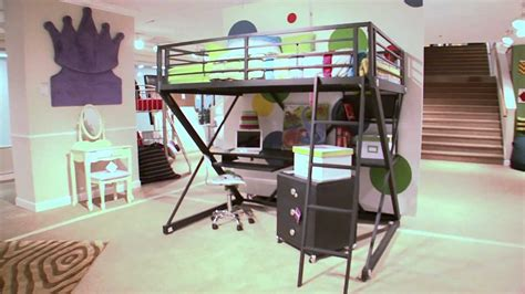 Cheap Bunk Bed With Desk Desk Beds For Sale Desk Beds For Boys And Girls Youtube