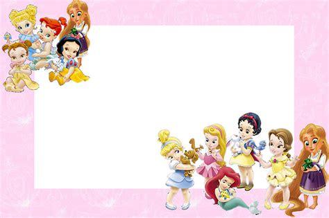 Disney Pri Ess Babies Free  Ee  Printable Ee   Party  Ee  Invitations Ee