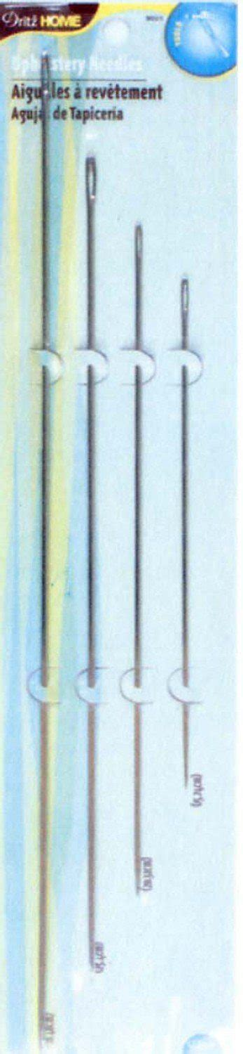 long upholstery needles dritz upholstery needles set 6 8 10 and 12 inch