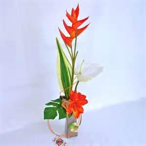 Anthurium Flower Composition De Fleurs Artificielles Moderne Composition Florale Artificielle Design D 233 Coration
