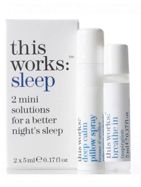 This Works Sleep Pillow Spray by The Sleep Fiona Clark