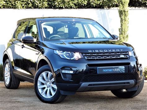 black land rover discovery used santorini black land rover discovery sport for sale
