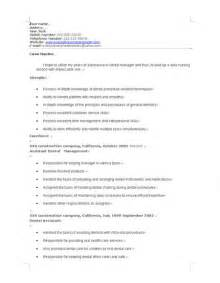 Sle Of Office Manager Resume by Dental Office Manager Resume Sle Ilivearticles Info