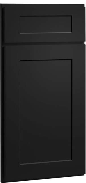 black kitchen cabinet doors dayton door painted carbon finish cliqstudios com
