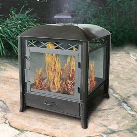 Landmann Aspen Outdoor Fireplace by 25 Best Ideas About Outdoor Wood Burning Fireplace On
