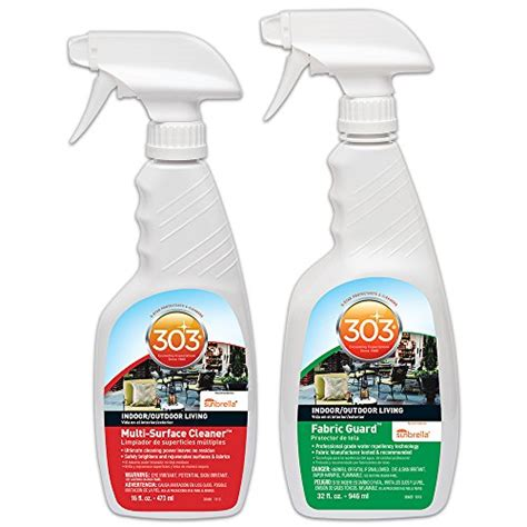 water free upholstery cleaner 303 patio multi purpose cleaner protectant kit fabric