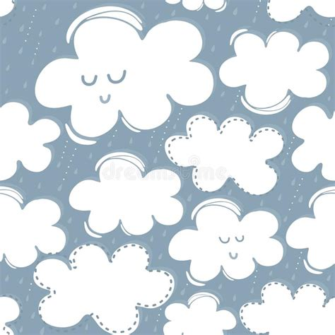 imagenes de nubes sin fondo rainy spring summer day with white clouds and raindrops