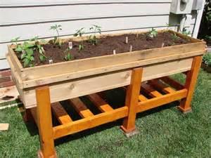 waist high planter box garden planters planters and box