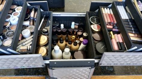 updated what s in my freelance makeup kit 2017 landry