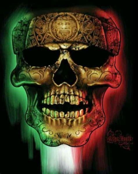 imagenes calaveras aztecas aztecas dia de muertos noviembre 1y2 100 chicano