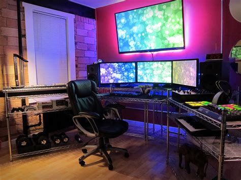 computer setup room best 25 computer gaming room ideas on pinterest gaming