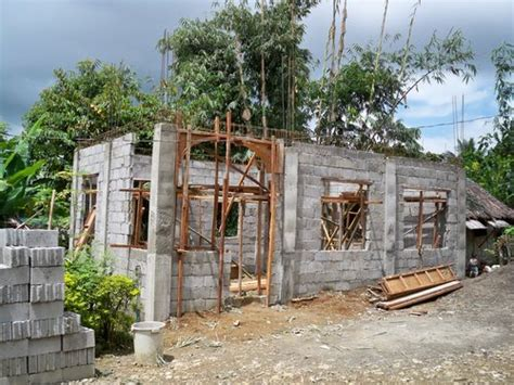 how to build a concrete block house building a concrete block house part 3 philippines