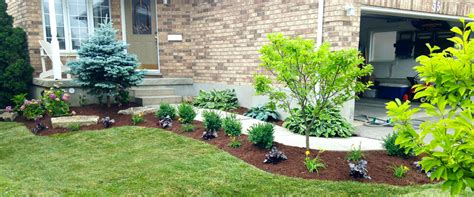 Landscape Architecture Kitchener Waterloo Flowerbed Design Planting Yard Worx Landscape