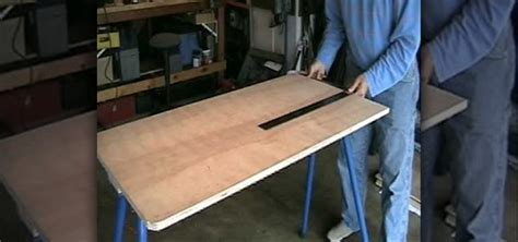 how to build a shooting bench out of wood how to build a target shooting bench 171 furniture woodworking wonderhowto