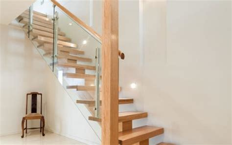 Just Two Fabulous Staircases by Floating Timber Stair And Glass Just Stairs