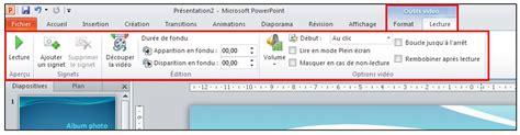 format audio powerpoint 2010 powerpoint 2010 objets graphiques et effets d animation