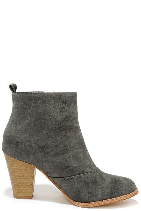grey high heel booties grey booties high heel booties ankle boots 39 00